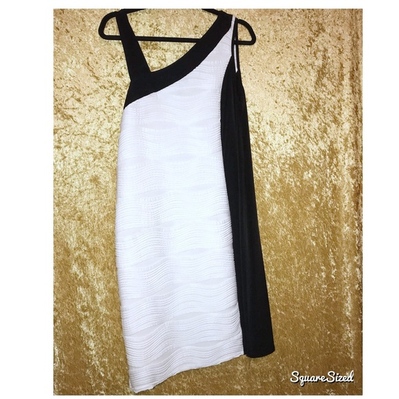 Ashley Stewart Dresses & Skirts - Bare It Black and White Beauty
